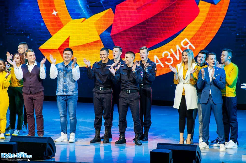 Второй полуфинал Центральной лиги МС КВН «Азия» 2019 Фотоотчет